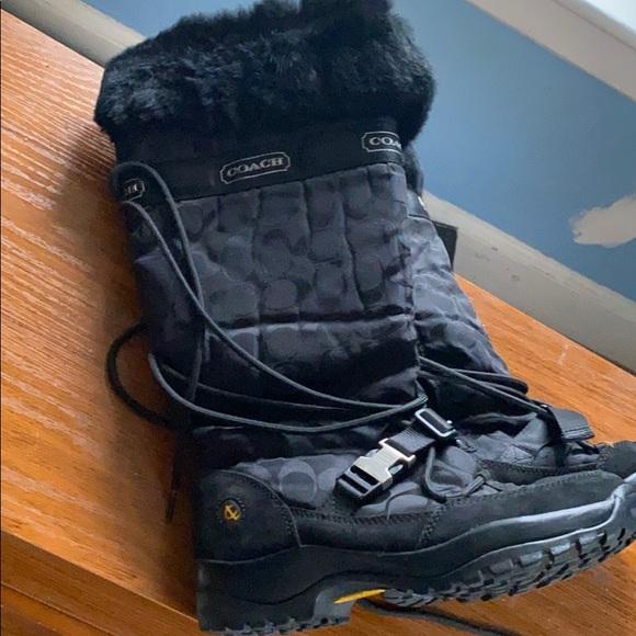 Brand new! Coach winter boot